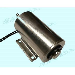 马达底座水平安装推拉式电磁铁/长行程3公分推拉电磁铁