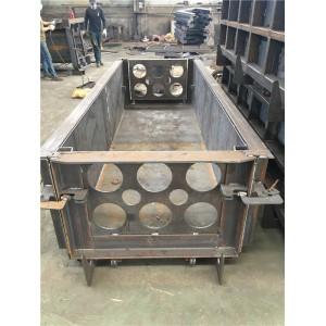 三槽电缆槽钢模具 操作施工过程简单