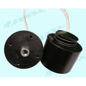 220V交流电磁计量泵电磁铁/1.5毫米行程推拉式电磁铁