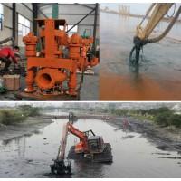 挖机抽浆泵挖机又一用途附属设备液压泥浆泵
