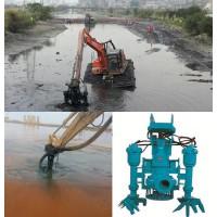 挖掘机搅拌泥浆泵_水沟污泥泵_不堵塞8寸吸泥泵