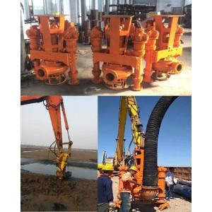 大挖机吸沙泵、河道大型抽沙泵、30吨挖机驱动沙浆泵