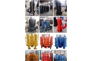 排沙排污机泵 潜水特种泵 大流道泥浆机泵