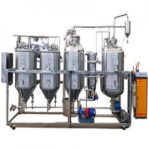 贝斯德菜籽油精炼设备加工过程及原理说明