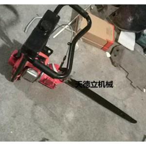 45公分链条式割冰锯 65公分汽油动力切冰锯  锯冰机