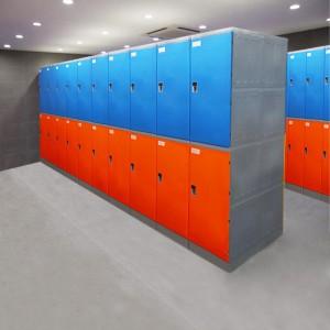 厂家直销 ABS塑料更衣柜浴室更衣柜塑料储物柜澡堂更衣柜