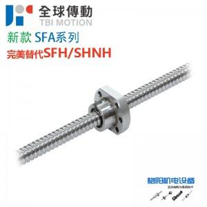 台湾TBI丝杆、全球传动、新款SFA系列、替代SFH