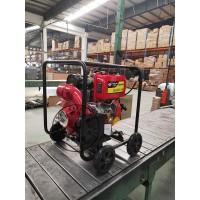 4寸消防用柴油水泵