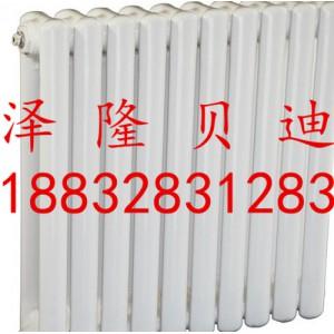 白色钢二柱散热器生产厂家