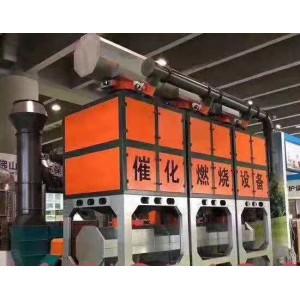 两万风量活性炭吸附催化燃烧设备