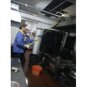 西安后厨油烟机,油烟管道,风机,净化器清洗公司