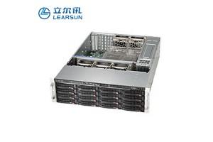 LF2061标准2U机架式服务器 5组可拆卸式轴流风扇