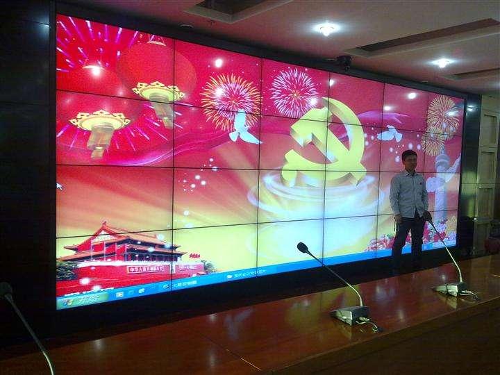 深圳液晶拼接墙  55寸液晶拼接屏报价  液晶拼接屏厂家