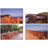 柳桉木建筑工程案例、柳桉木户外景观、进口柳桉木