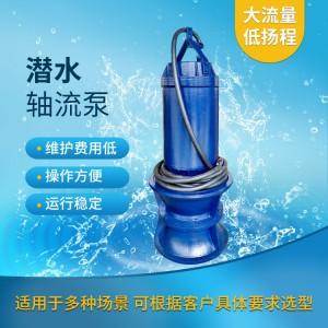 大口径350QZB潜水轴流泵生产厂家