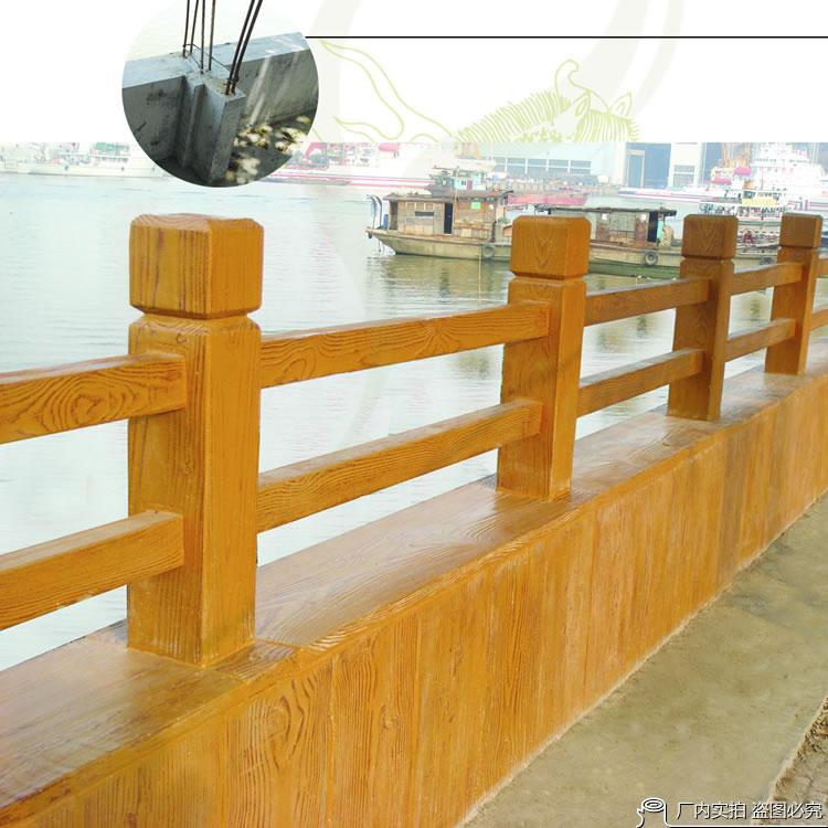 唐木木质护栏、唐木地板定制
