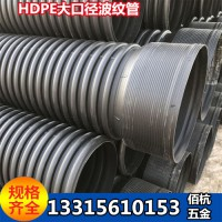 河北佰杭黑色160PE钢带波纹管耐强酸