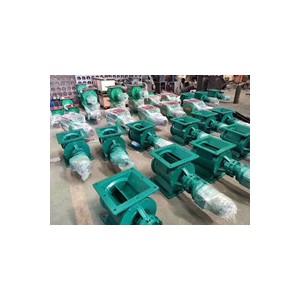 防爆型星型卸料器电机的消耗和使用效果