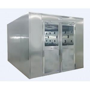 江苏苏州201不锈钢单人双吹风淋室设备