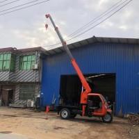 改装农用三轮吊车小型建筑吊三轮随车吊