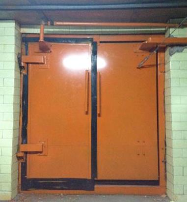 矿用自动防水闸门/液压闭锁防水门/泵房平开式防水门