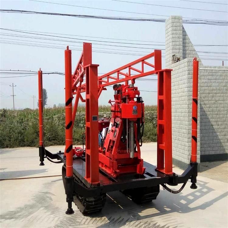 云南矿区XY-2B勘查钻机 履带岩心钻机钻头
