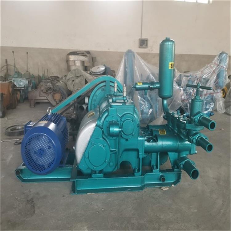 三缸往复式BW250泥浆泵扬程 柱塞泥浆泵