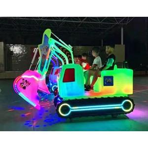 广场游乐设备儿童电动碰碰车挖掘机