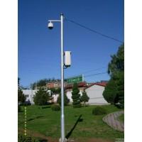 吉林八角监控杆 监控杆件  批量生产 专业定制_监控杆图片