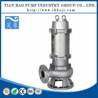 污水处理厂用500WQ潜水排污泵耦合式安装