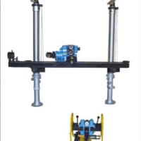 注浆探水钻机 架柱式ZYJ-400全液压履带坑道钻机