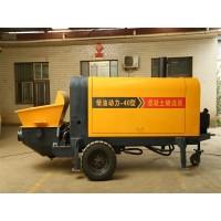 小型混凝土泵 混凝土湿喷机 二次构造柱上料机