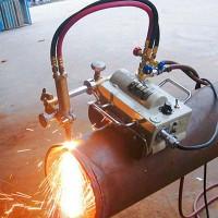 山东凌琛火焰切割机数控气割机磁力管道切割机火焰切圆机供出口