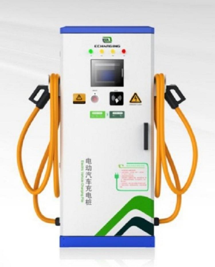 供应120KW大功率双枪直流充电桩-易充新能源